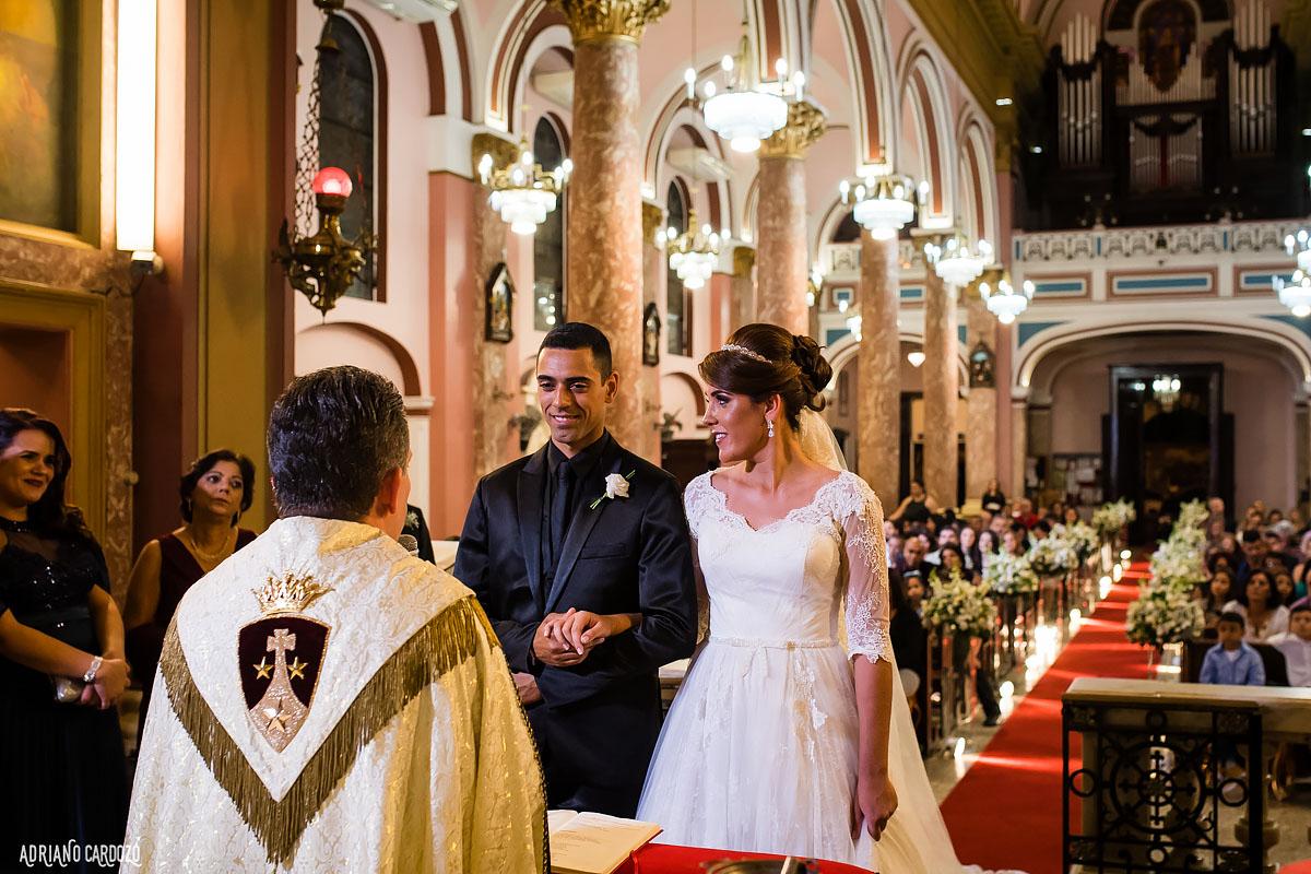Cerimônia de casamento - Fotografia profissional de casamento