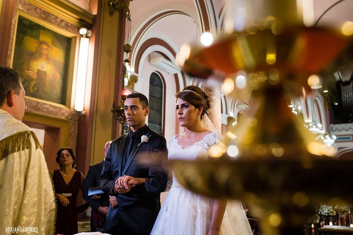 Cerimônia na igreja - Rio de Janeiro