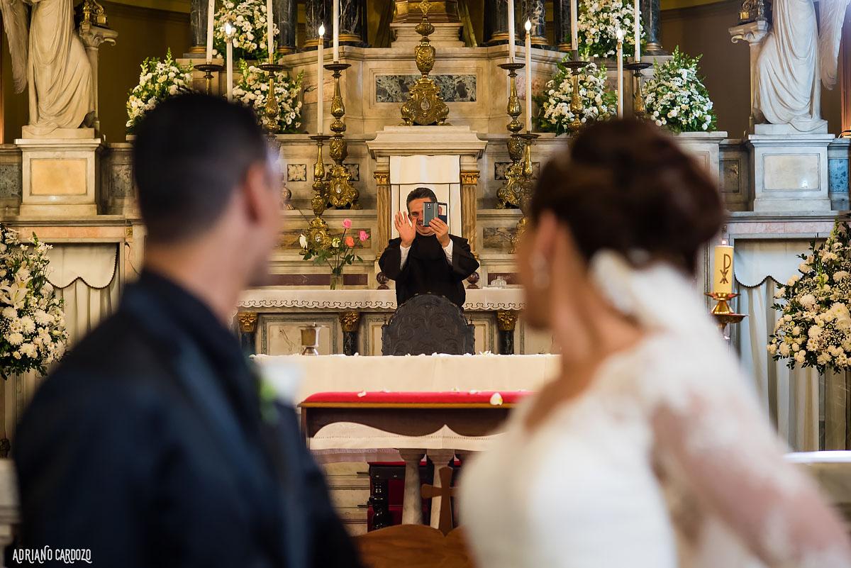 Foto do padre - Casamento no Rio de Janeiro