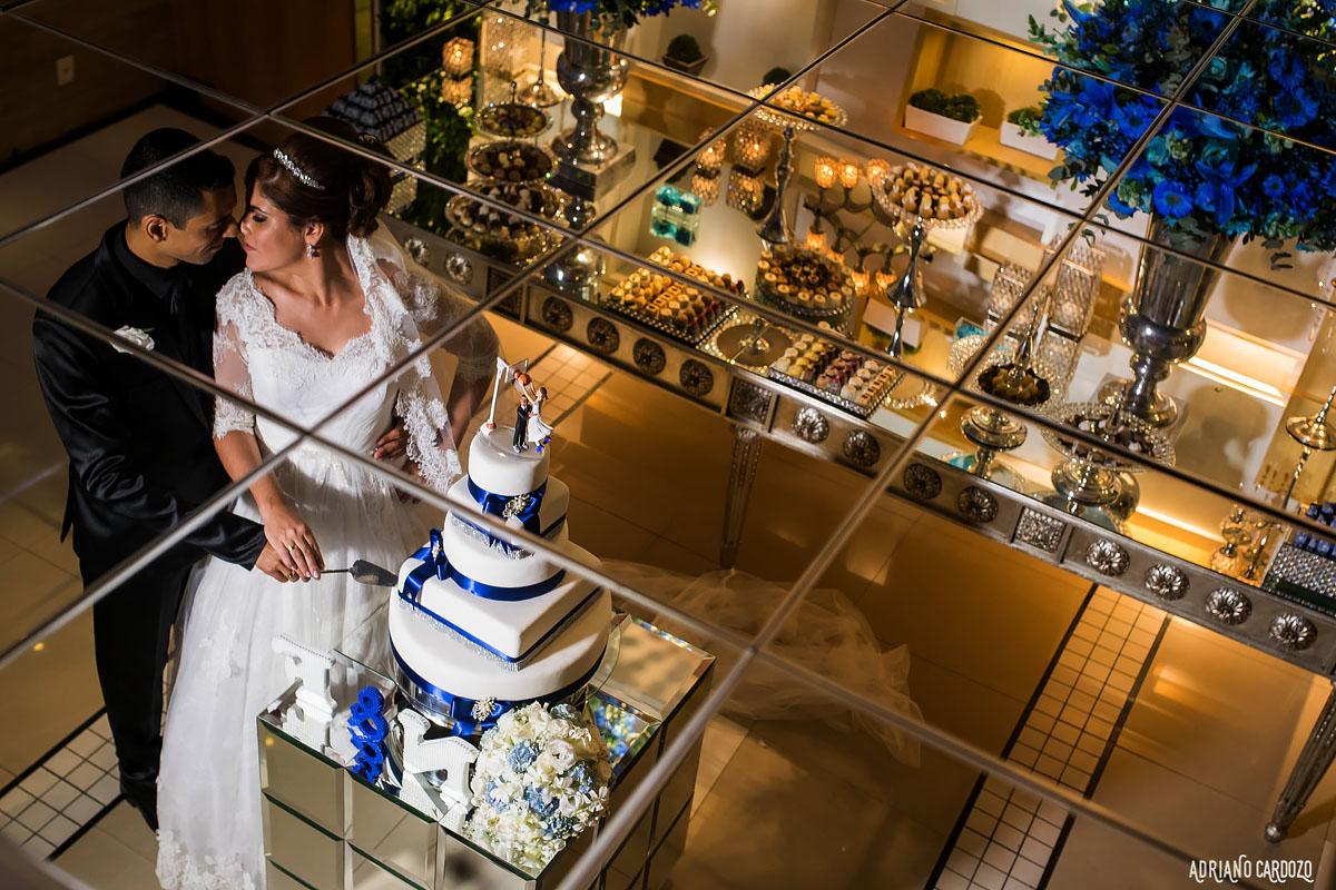 Foto dos noivos no bolo - Rio de Janeiro