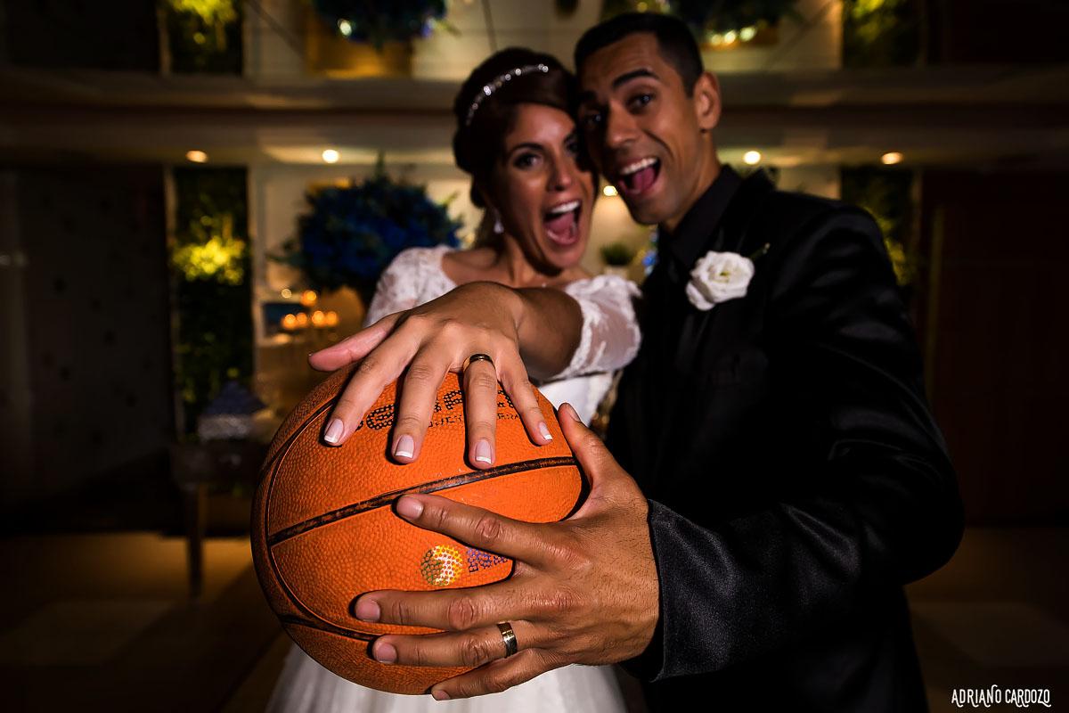 Basquete no casamento - Fotografia de casamento
