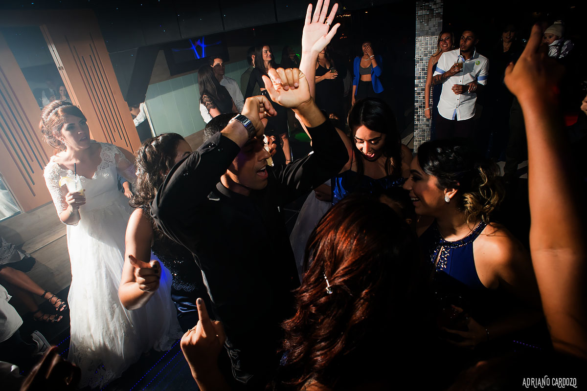 Noivos na pista de dança - Rio de Janeiro