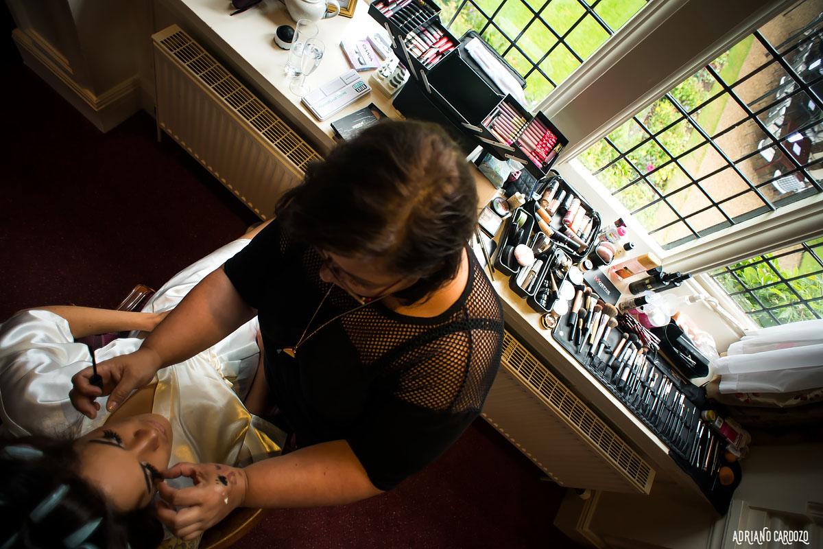 Maquiagem de noiva Londres