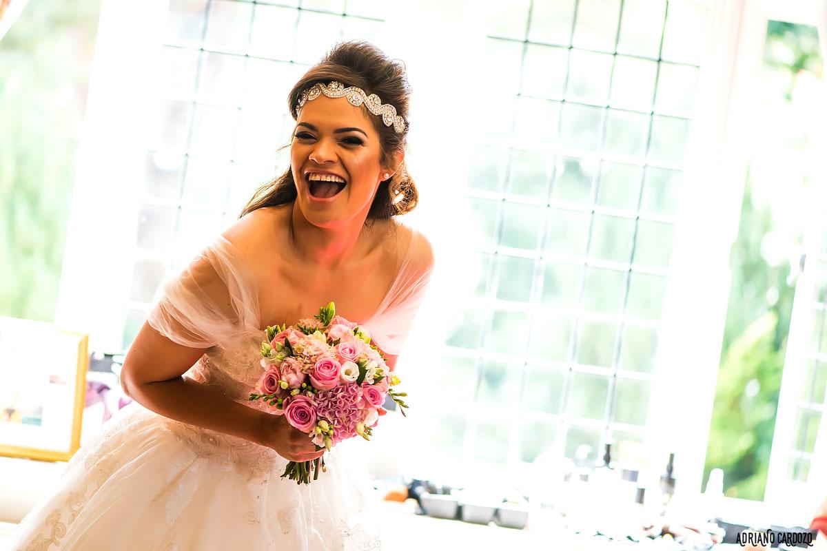 Alegria no dia de noiva - Londres