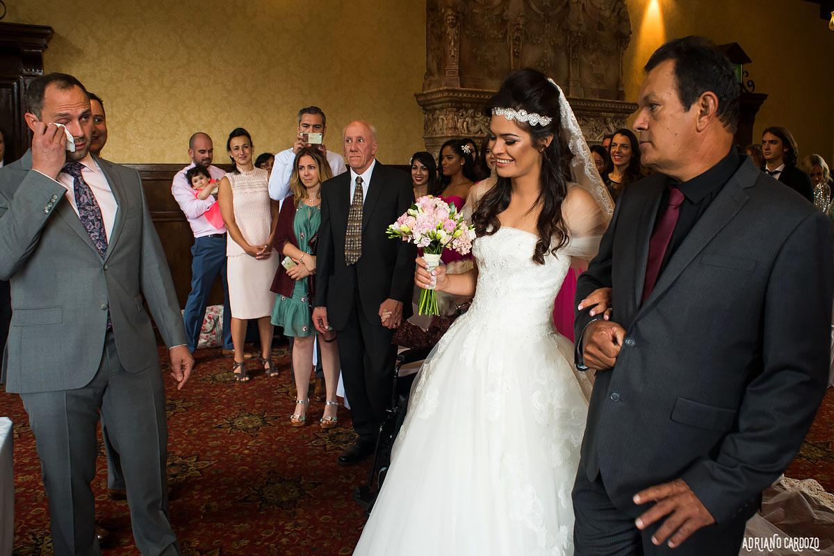 Chega da noiva no altar - Londres