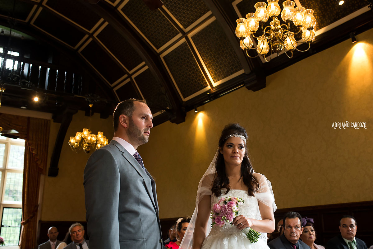 Casamento realizado em Londres