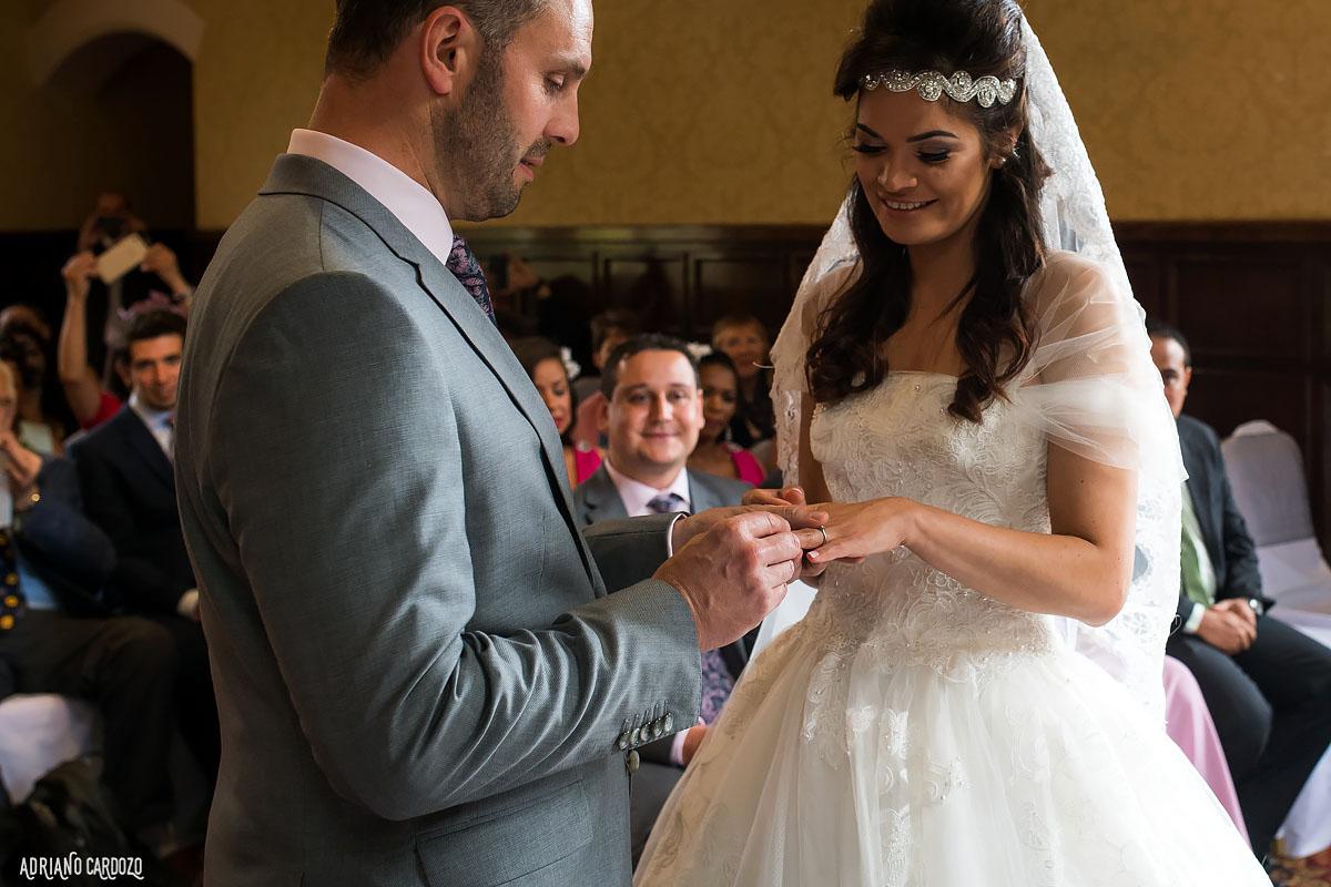 Noivos casando em Londres