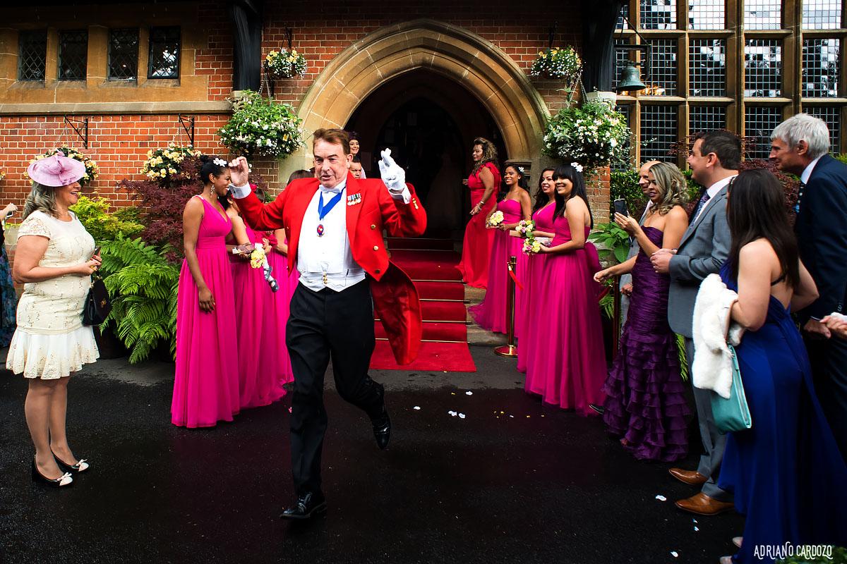 Recepção dos noivos - Londres