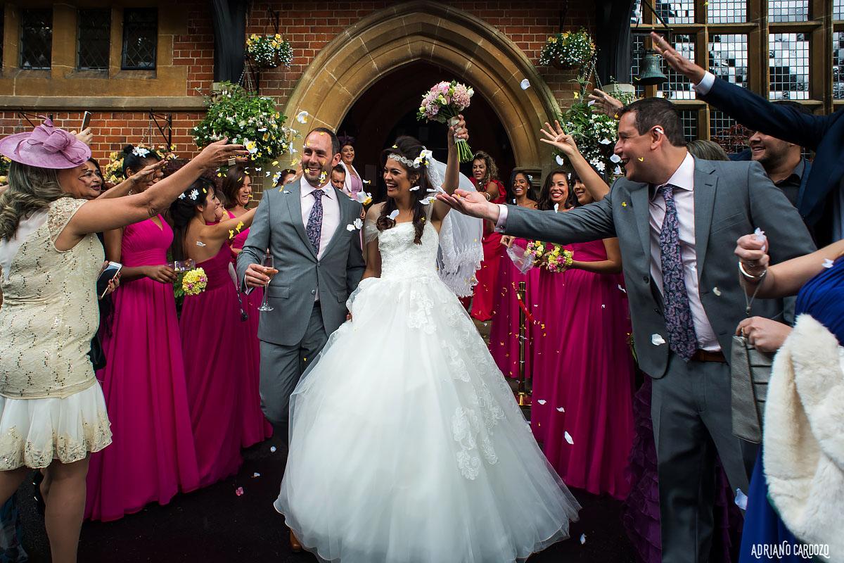 Casamento em Londres - Fotografia de casamento