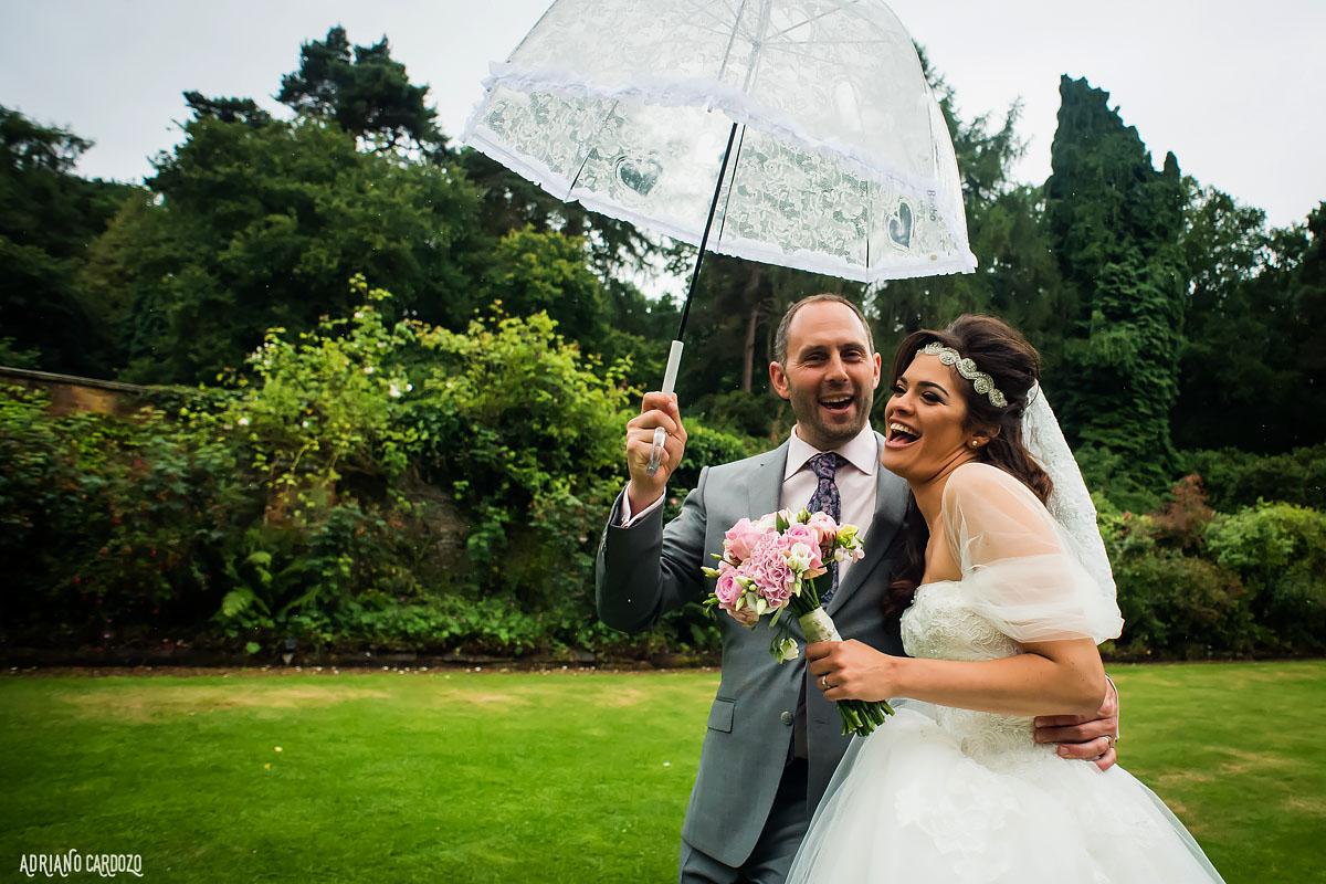 Alegria dos noivos - Casamento em Londres