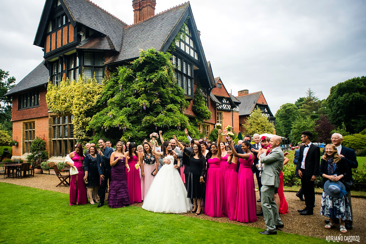 Casamento divertido em Londres