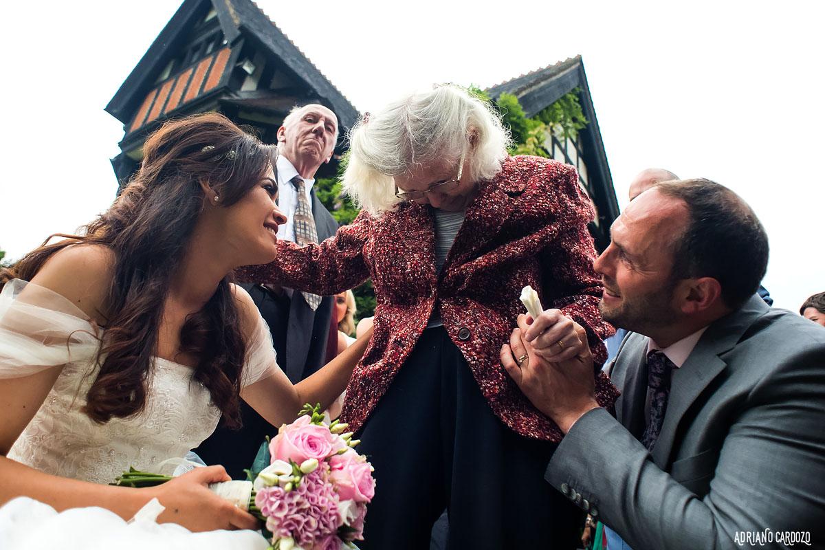 Avó da noiva - Fotografia de casamento em Londres