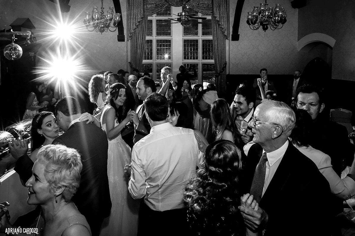 Pista de dança em casamento - Londres
