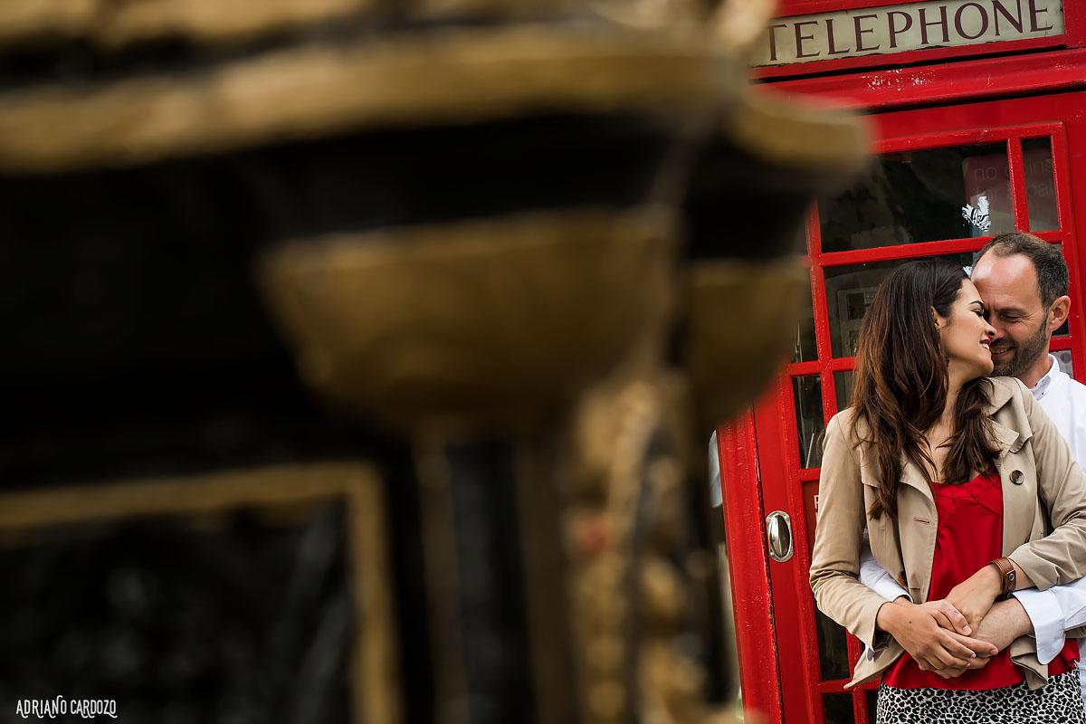 Ensaio de pre casamento em Londres