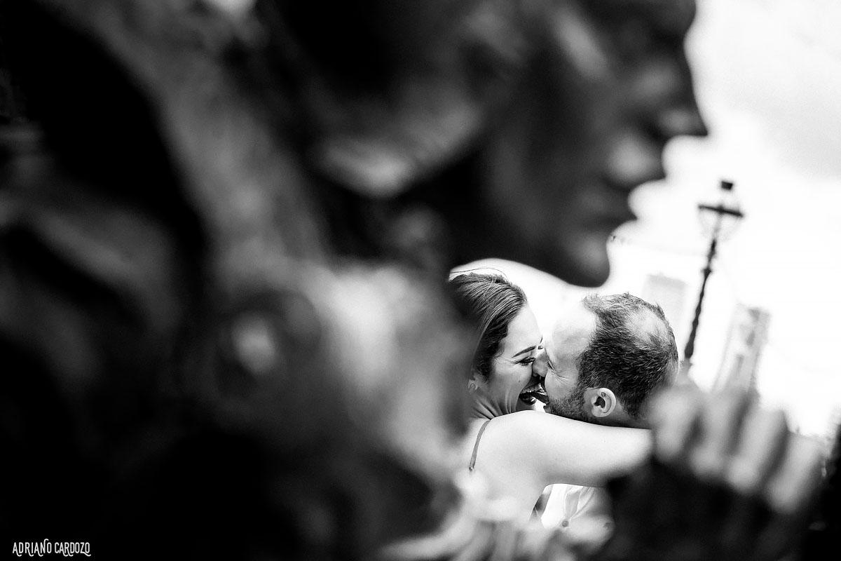 Noivos apaixonados - Ensaio fotográfico em Londres