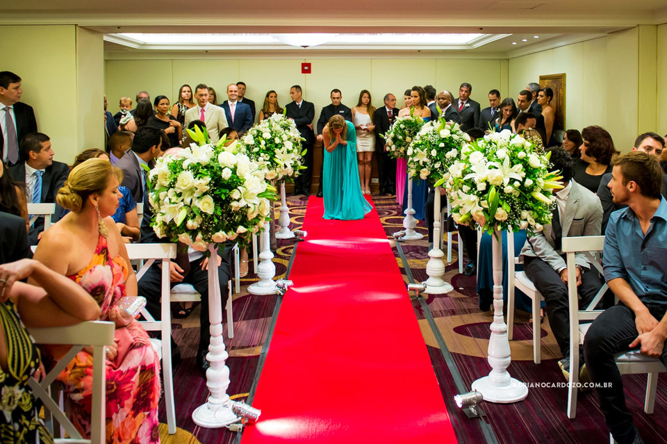 Fotografia de Casamento no RJ com Making Of, Cerimônia e Festa no Hotel Marriott em Copacabana por Adriano Cardozo