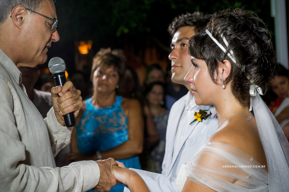 Fotografia de Casamento em Búzios com Cerimônia e Festa na Pousada Yucas por Adriano Cardozo