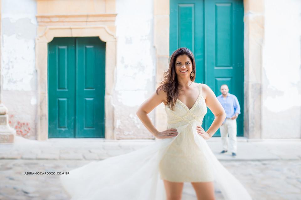 Ensaio de casal pré-wedding em Parati no RJ por Adriano Cardozo