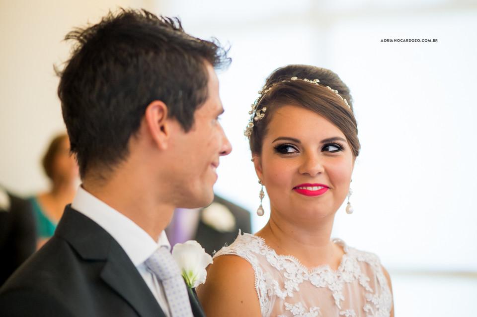 Fotografia de Casamento no RJ com Cerimônia feita no condomínio Barra Family na Barra da Tijuca por Adriano Cardozo