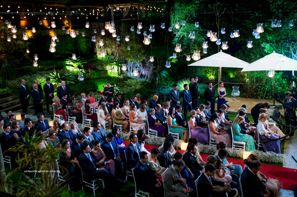 Casamento na Casa das Canoas em São Conrado no Rio de Janeiro por Adriano Cardozo
