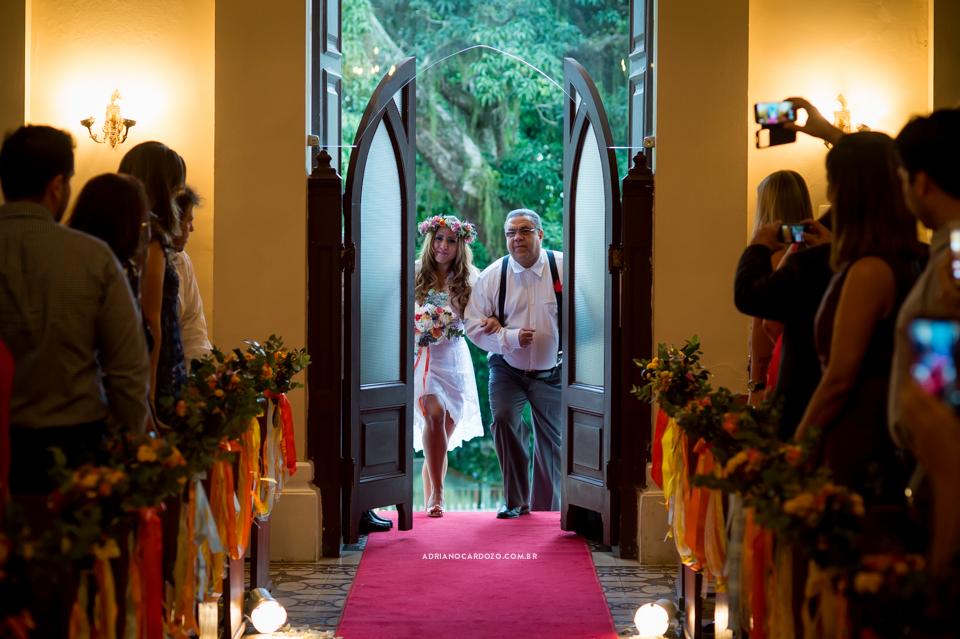 nadaFotografia de Casamento RJ. Casamento na Capela Nossa Senhora das Graças, em Botafogo por Adriano Cardozo.