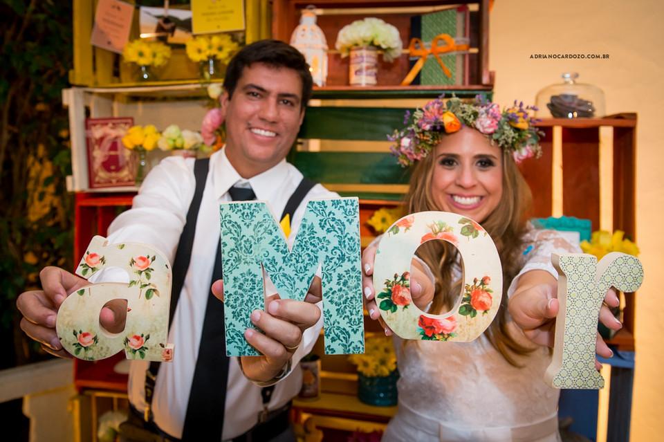 Decoração do Casamento. Fotografia de Casamento RJ. Casamento na Capela Nossa Senhora das Graças, em Botafogo por Adriano Cardozo.