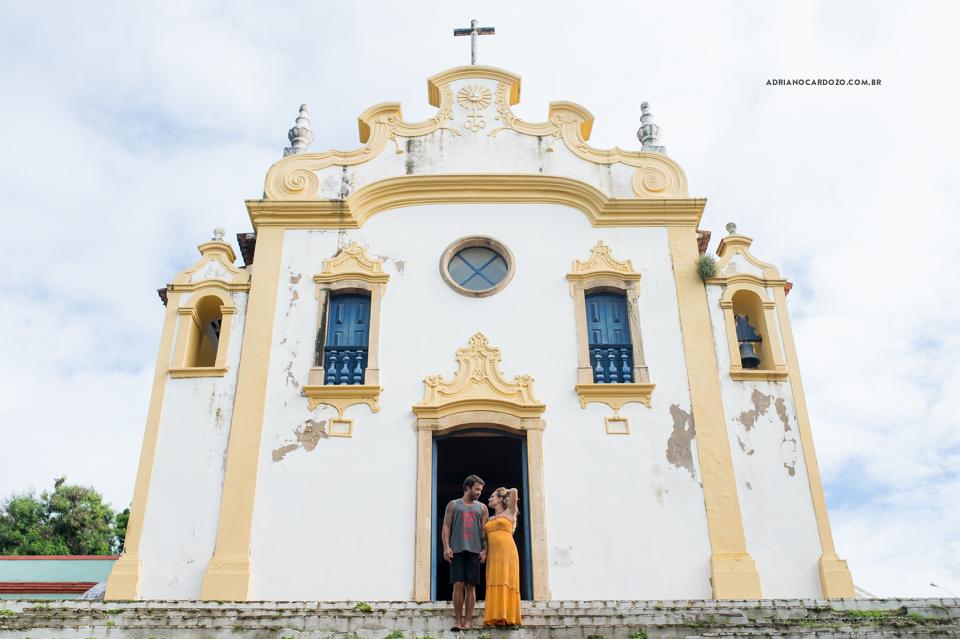 Ensaio de Casal em Fernando de Noronha por Adriano Cardozo.