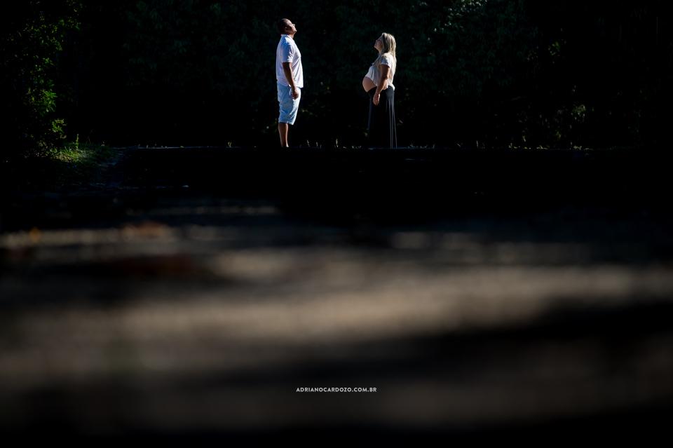 Book Gestante no Bosque da Barra no Rio de Janeiro por Adriano Cardozo.