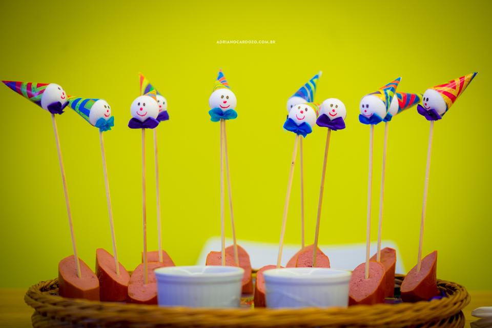 Aniversário com tema de circo - 1 Ano Miguel por Adriano Cardozo