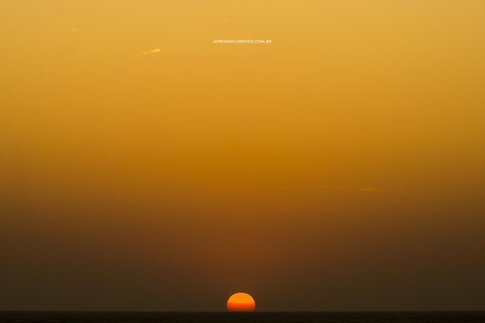 Pôr do sol. Ensaio de casal em Jericoacoara-CE por Adriano Cardozo