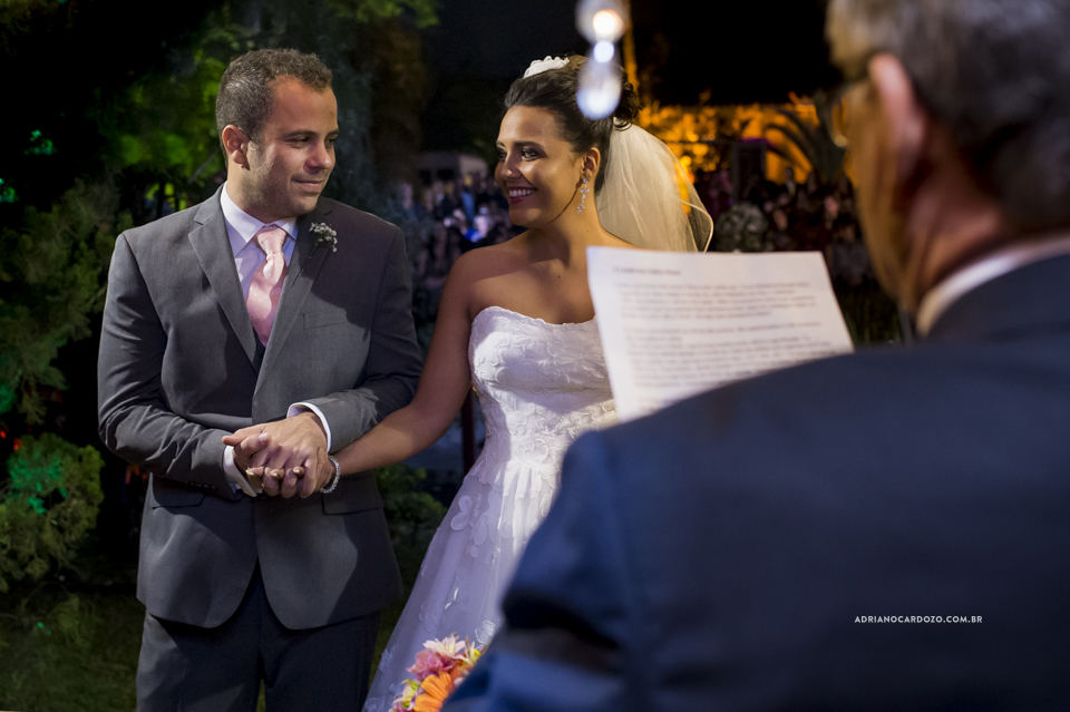 Cerimônia de Casamento no RJ na Casa de Festas Casuarinas por Adriano Cardozo