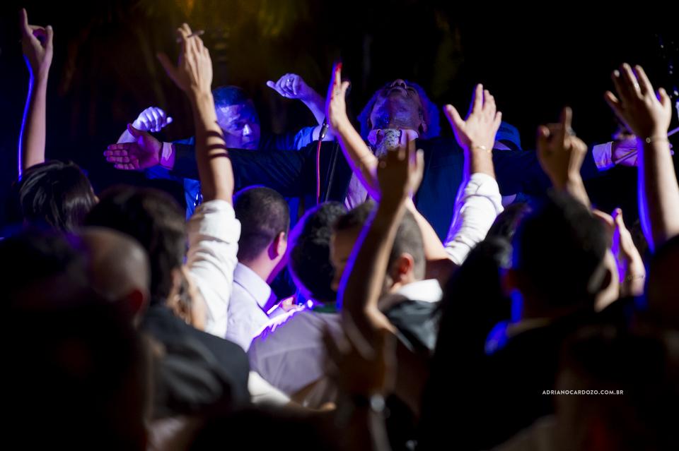 Festa de Casamento. Ivo Meireles cantando. Casamento no RJ na Casa de Festas Casuarinas por Adriano Cardozo