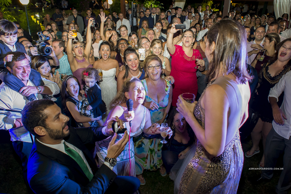 Pedido de Casamento durante o Casamento. Casamento no RJ na Casa de Festas Casuarinas por Adriano Cardozo