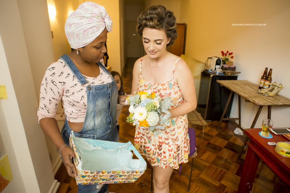 Making Of da Noiva. Casamento na Pedra do Sal no Rio de Janeiro por Adriano Cardozo