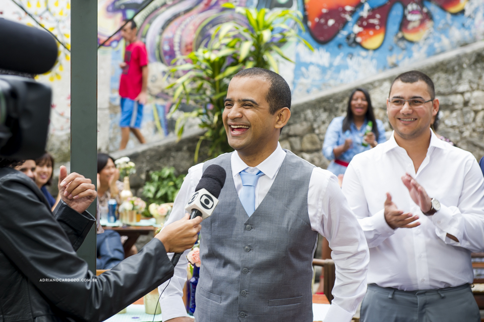 Casamento na Pedra do Sal no Rio de Janeiro por Adriano Cardozo