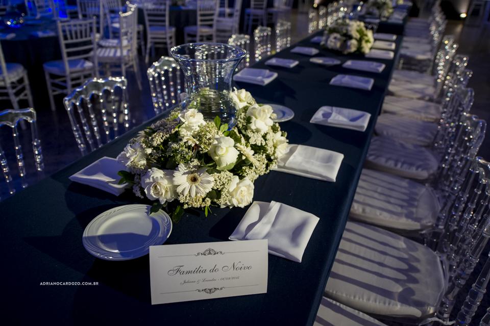 Decoração de Casamento. Cerimônia no Iate Clube Icaraí por Adriano Cardozo
