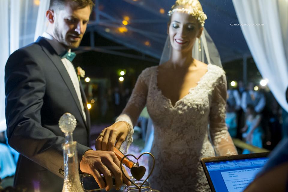 Cerimônia de Casamento no Sítio Bom Tempo em MIguel Pereira por Adriano Cardozo