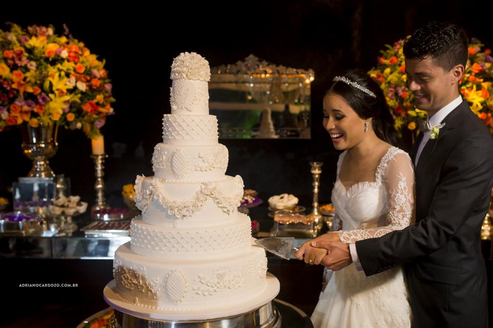 Bolo de Casamento. Festa de Casamento no Clube Ginástico Português, por Adriano Cardozo