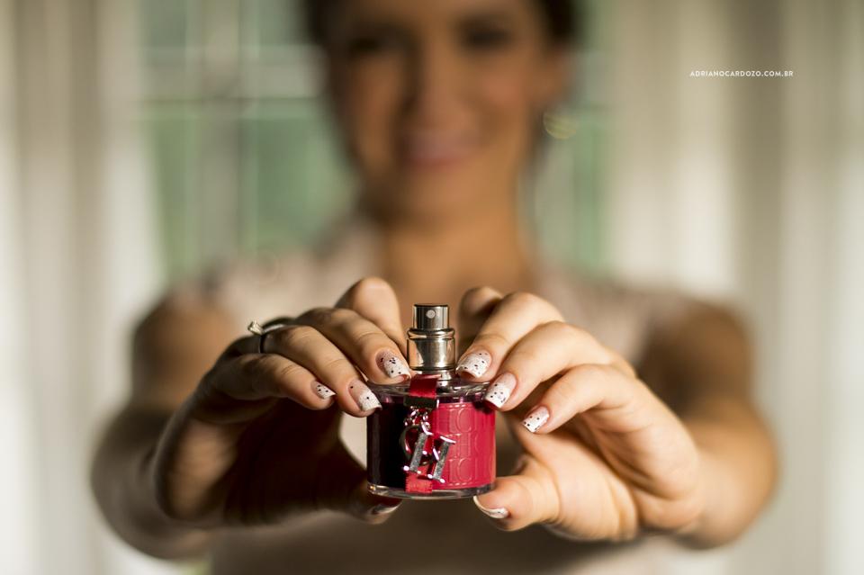 Fotografia de Casamento. Perfume da Noiva. Making Of no Garden Party por Adriano Cardozo