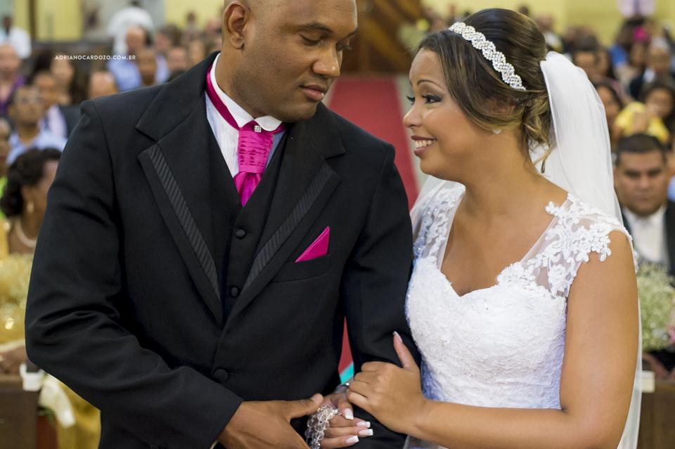 Fotografia de Casamento RJ. Cerimônia na Igreja do Santana por Adriano Cardozo