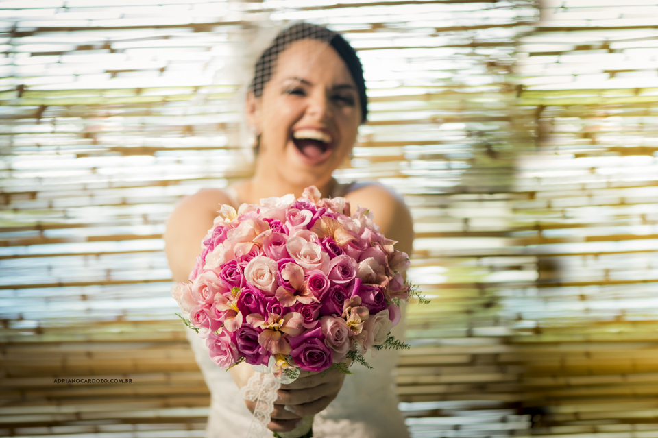 Fotografia de Casamento no Rio de Janeiro. Buquê da noiva por Adriano Cardozo