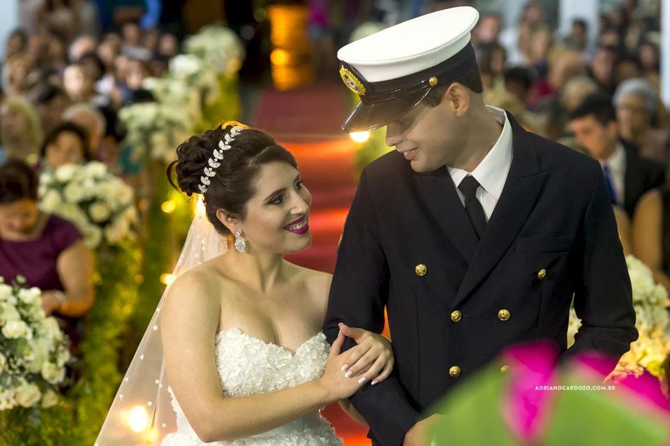 Casamento RJ. Cerimônia na Paróquia N. S. de Fátima por Adriano Cardozo.