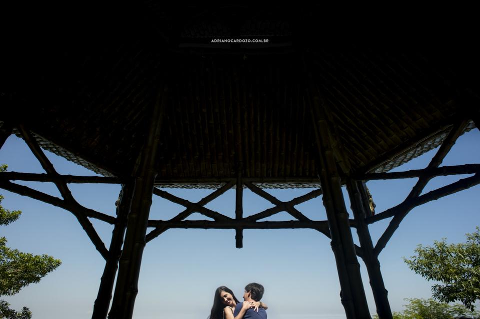 Fotografia de casamento. Ensaio Pré-Wedding na Vista Chinesa por Adriano Cardozo