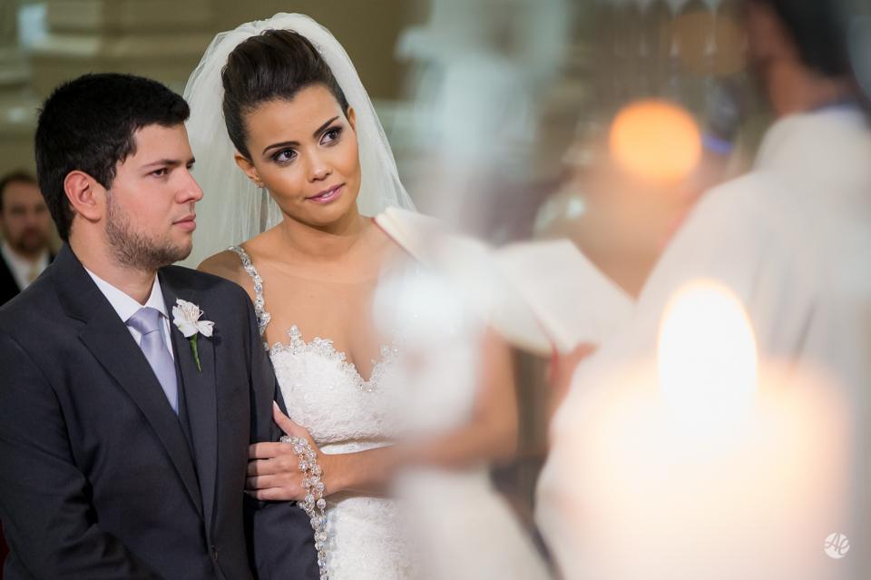 Casamento em Niterói, Rio de Janeiro. Cerimônia na Basílica Nossa Senhora Auxiliadora, no Colégio Salesiano, em Niterói por Adriano Cardozo