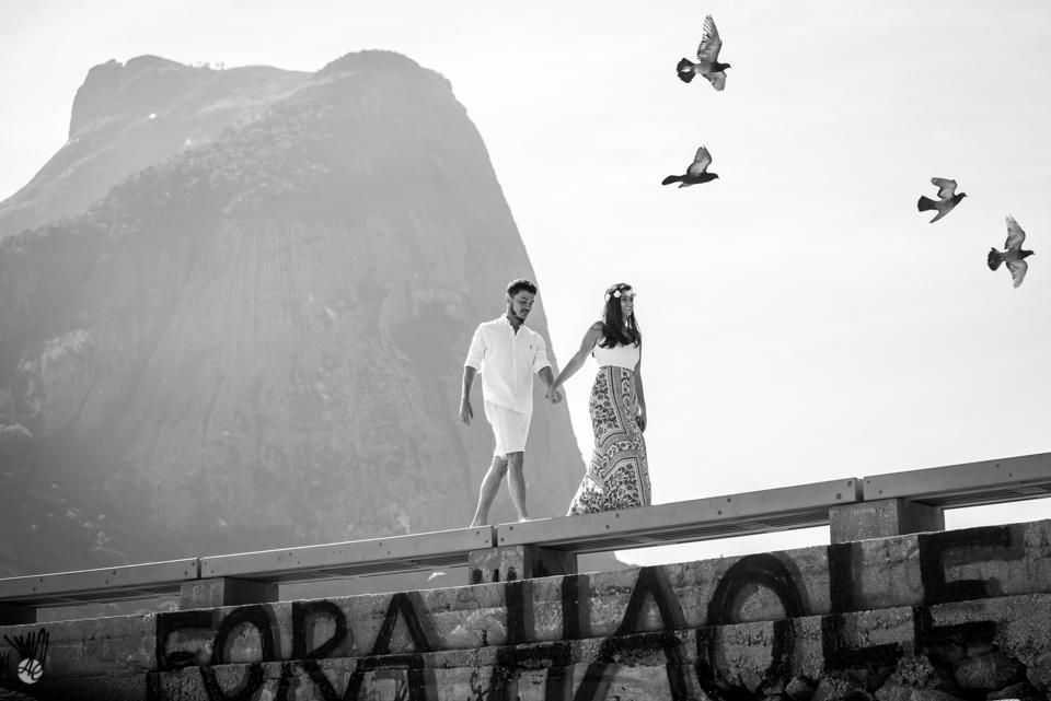 Ensaio Pré-Wedding Taissa e Kadu na pria do rio de Janeiro por Adriano Cardozo