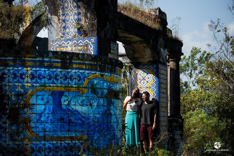 Ensaio Raquel e Ivan no Mirante da Granja Guarani, em Teresópolis no Rio de Janeiro por Adriano Cardozo