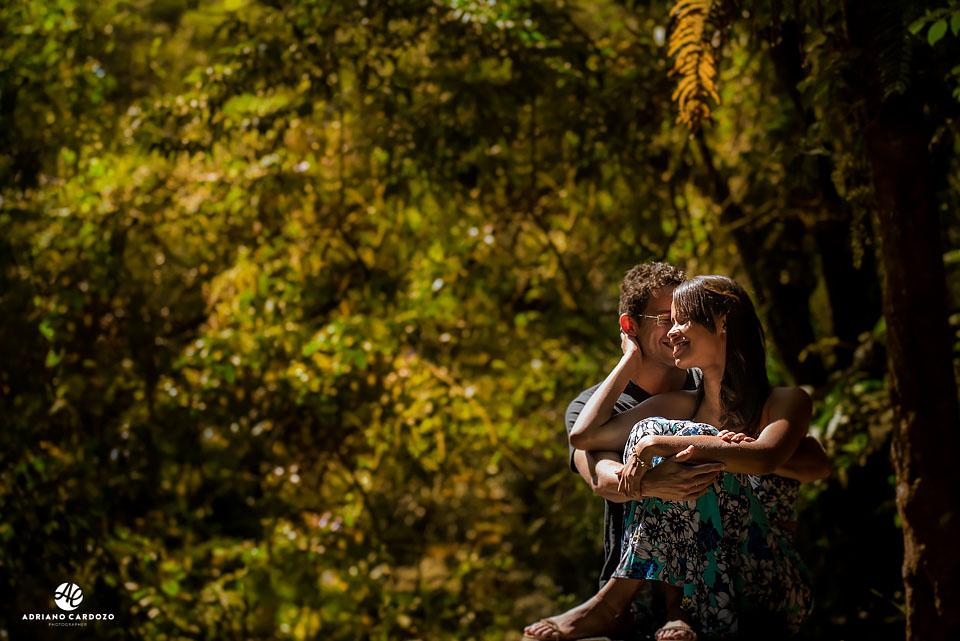 Adriano Cardozo faz ensaio de casal em Teresópolis