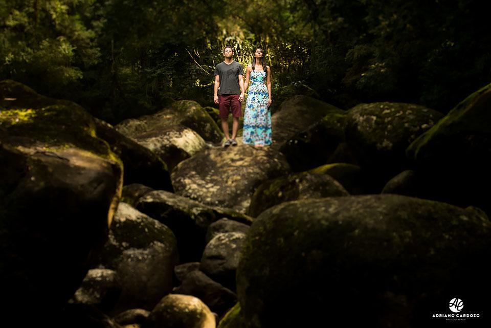 Ensaio pré-wedding no Rio de Janeiro, em Teresópolis