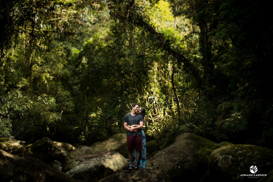 Ensaio pré-casamento na Serra dos Órgãos, em Teresópolis