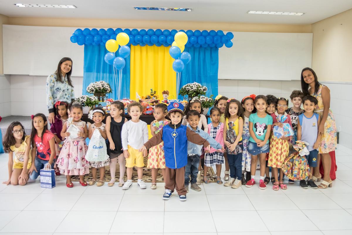 Crianças na Escola Adventista em Jacobina Bahia